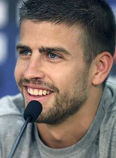 Soccer player, blue eyes, and an accent... Thank u Spain