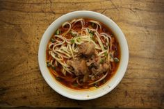 Sichuan Noodle and Pork Shoulder Soup (Yu Xiang Pai Gu Mian) | 29 Ridiculously Delicious Chinese Recipes That Are Better Than Take-Out