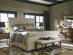 Universal Furniture | New Bohemian Boho Chic Bed