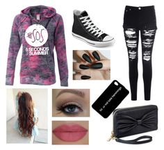 """Go to a 5sos concert look"" by haleystickney ❤ liked on Polyvore"