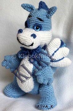 Kostenlose Häkelanleitung Amigurumi Drache Crochet Pattern Pinterest