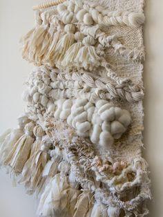 Crossing Threads, handwoven, woven wall hanging, macrame, tapestry, boho, boho luxe, bohemian, interior decor, wall art, fiber art, merino wool,