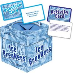 Ice Breakers Ice Cube for First Day of School