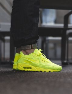 Nike Air Max 90 Ultra Breeze: Yellow