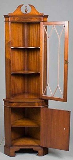 Corner Cabinets, Cupboards, Corner Furniture, Wood Furniture, Crockery Cabinet, Cedar Homes, Kitchen Drawer Organization, Corner Storage, Cupboard Design