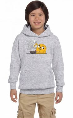 bacon pancakes Youth Hoodie