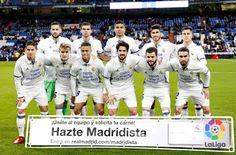 Equipos de fútbol: REAL MADRID contra Leonesa 30/11/2016