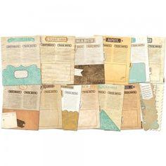 Wkłady do Albumu Misc Me! - Vintage Calendar