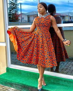 18 Charming Ankara Styles For Swag Ladies Only - Ankara Designs We have good-looking Ankara styles for lovely ladies. We have the best Ankara styles Short African Dresses, Latest African Fashion Dresses, African Print Dresses, African Print Fashion, African Prints, Ankara Fashion, African Fabric, Ankara Dress Designs, Ankara Dress Styles