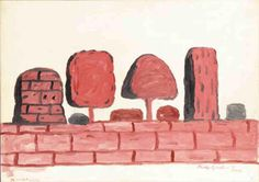 Roma, 1971 by Philip Guston (1913-1980, Canada)