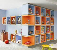секционный детский шкаф