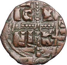 JESUS CHRIST Class C Anonymous Ancient 1034AD Byzantine Follis Coin i55834 https://trustedmedievalcoins.wordpress.com/2016/05/30/jesus-christ-class-c-anonymous-ancient-1034ad-byzantine-follis-coin-i55834/