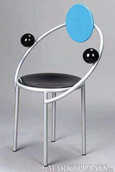 First Chair, Memphis Milano Design, Michele De Lucchi