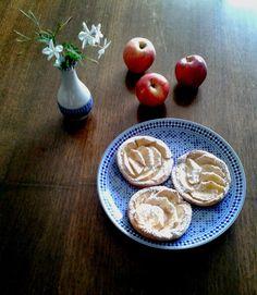 Tarta de Manzana de Hojaldre y Crema