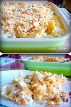 Easy, Cheesy, Ritzy Chicken Casserole uses 8 common ingredients that, when combined, create a tasty masterpiece. You won't believe how easy it is to make - it's basically a dump 'n' go recipe.