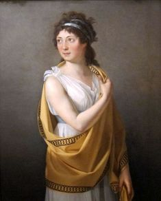 Neoclassicism - Revolutionary socialite Thérésa Tallien in the 19th century