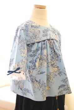 Eva dress and blouse pattern by Rosalie & Me.