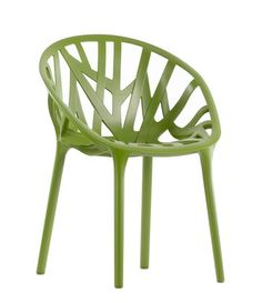 chaise Vegetal - moulage par injection, 100 % polyamide recyclable  - Ronan et Erwan Bouroullec - Vitra