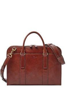 Fossil Landon Large Top Zip Workbag My new work bag!