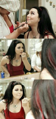 Amy Lee Hair, Emy Lee, Ben Moody, Snow White Queen, Amy Lee Evanescence, Taylor Momsen, Metal Girl, Badass Women, Girls In Love