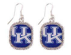 University of Kentucky Dangle Pendant Earrings