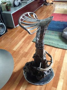 Upcycled Crafts, Wood Steel, Home Decor Accessories, Sculptures