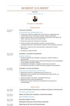 financial controller resume example - Sample Financial Controller Resume