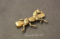 Gold Oxidized Brass -Running Horse ,Victorian ,steam punk ,Gold tie clip, Gifts for him, Man Christmas Gift by simplychic93 on Etsy https://www.etsy.com/listing/214680851/gold-oxidized-brass-running-horse