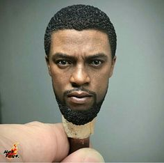 black panther hot toys collectible figurine