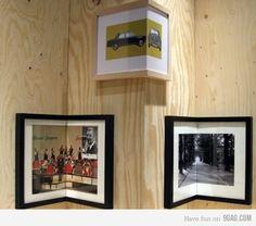 corner frame! smart!