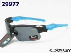 95525a012e Cheap Oakley Fast Jacket Sunglasses black-blue frame black lens outlet on  sale