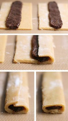Homemade Fig Newtons - uhm.. awesome. going to make these in strawberry since the store-bought ones aren't dairy-free.