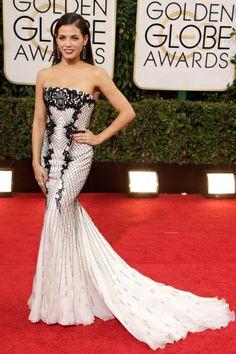 Los vestidos de los Golden Globes: JENNA DEWAN-TATUM