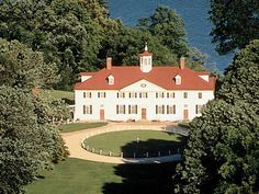 Mount Vernon, home of 2nd cousin: President George Washington, Alexandria, Virginia