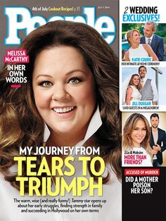 Melissa McCarthy on the cover of People magazine.