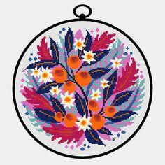 C2c Crochet, Crochet Cross, Diy Crafts Hacks, Diy And Crafts, Cross Stitch Designs, Cross Stitch Patterns, Stitch App, Cross Stitch Flowers, Couture