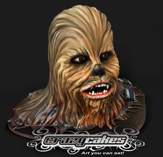 The Chewbacca cake. 70 servings of cake 100 edible. It...