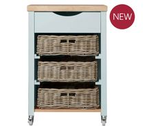 My vegetable rack is in tatters and thinks this would be a perfect replacement. Dorset Pale French Grey Butchers Trolley from Laura Ashley Storage Unit With Baskets, Basket Storage, Laura Ashley Kitchen, Vegetable Rack, Pantry Room, Diy Kitchen Storage, White Cottage, Childrens Room Decor, Shaker Style