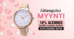 Buy Mother's Day Sale Watches at 10% OFF, Use Coupon Code : GIFTW, Hurry Up Guys...!!!