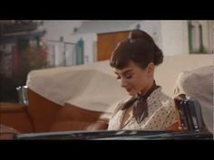 """Audrey Hepburn"" Starring in Galaxy Chocolate UK TV Advertisement"