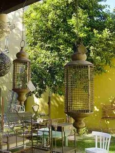 1000 images about hierro on pinterest wrought iron for Faroles para jardin