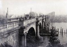 Old Waterloo Bridge, looking South