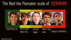 Lee Pace has some of the best facial expressions. Ned the Piemaker Scale of Terror.