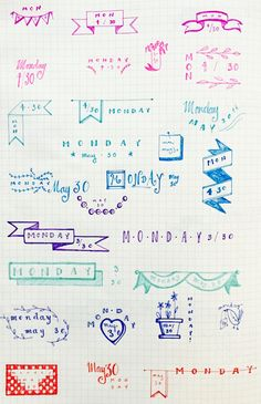bullet journal | Tumblr Más