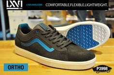 a4902619ef6f Vans  traditional blucher-style performance silhouette is built to be more  lightweight and performance-ready than ever before. The advanced Ortho  design ...