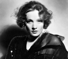 Marlena Dietrich - a force to be reckoned with