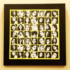 POPPURI | Yellow Diva Wall Frame / Rs.1350