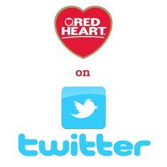 Red Heart is on Twitter! Follow us: twitter.com/redheartyarns