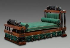 English Regency Bed, Ca. Design Attributed To Thomas Hope