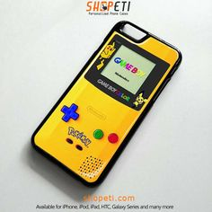 POKEMON GAME BOY Pocket Monsters Pikachu Case for iPhone Galaxy HTC iPad iPod